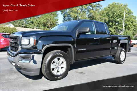 2017 GMC Sierra 1500 for sale at Apex Car & Truck Sales in Apex NC