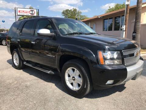 2007 Chevrolet Tahoe for sale at Auto A to Z / General McMullen in San Antonio TX