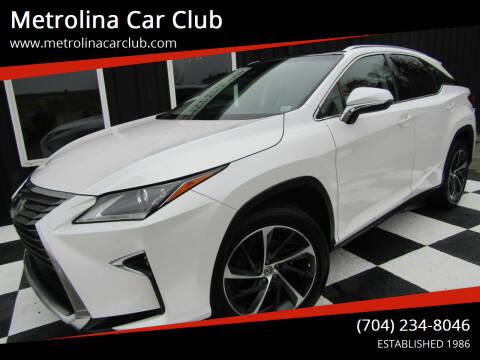 2016 Lexus RX 350 for sale at Metrolina Car Club in Matthews NC