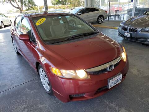 2011 Honda Civic for sale at Sac River Auto in Davis CA