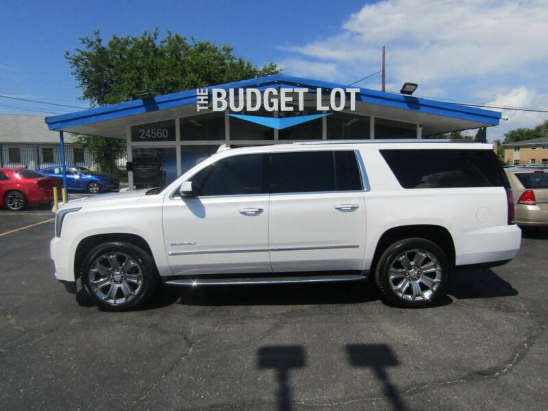 2016 GMC Yukon XL for sale at THE BUDGET LOT in Detroit MI