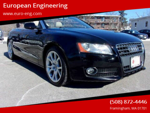 2011 Audi A5 for sale at European Engineering in Framingham MA