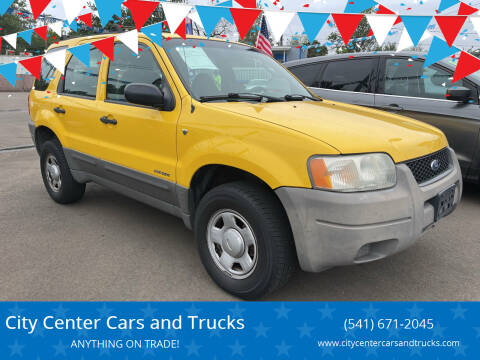 2001 Ford Escape for sale at City Center Cars and Trucks in Roseburg OR
