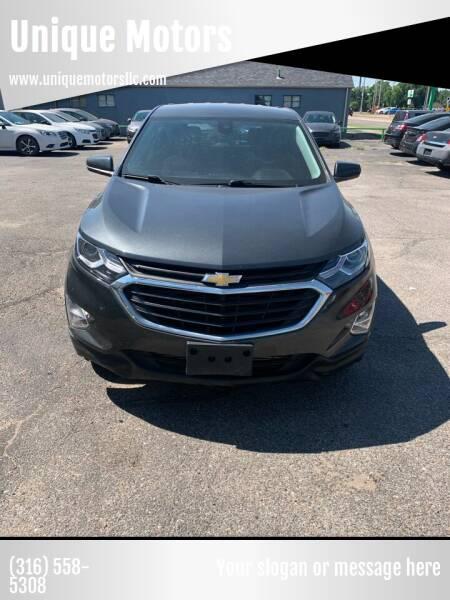 2019 Chevrolet Equinox for sale at Unique Motors in Wichita KS