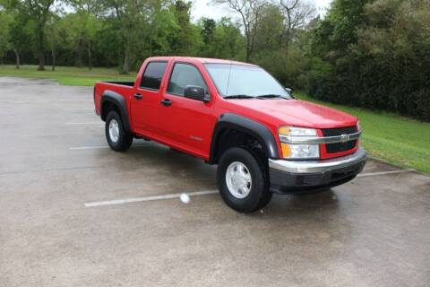 2005 Chevrolet Colorado for sale at Clear Lake Auto World in League City TX