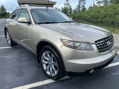 2005 Infiniti FX35 for sale at LA 12 Motors in Durham NC