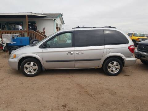 2005 Dodge Caravan for sale at PYRAMID MOTORS - Fountain Lot in Fountain CO