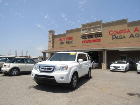 2011 Honda Pilot for sale at Import Motors in Bethany OK