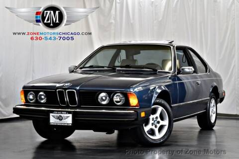 1984 BMW 6 Series for sale at ZONE MOTORS in Addison IL