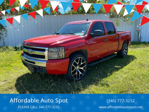 2008 Chevrolet Silverado 1500 for sale at Affordable Auto Spot in Houston TX