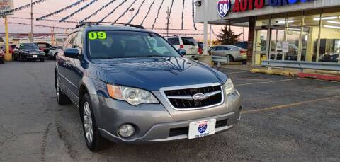 2009 Subaru Outback for sale at I-80 Auto Sales in Hazel Crest IL