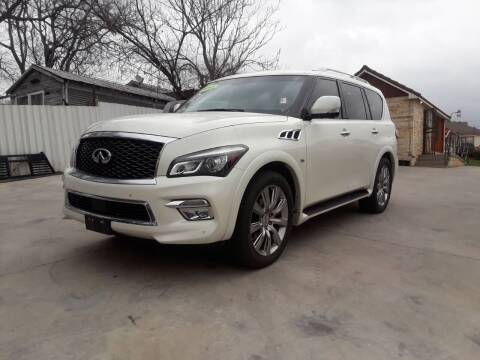 2015 Infiniti QX80 for sale at Speedway Motors TX in Fort Worth TX