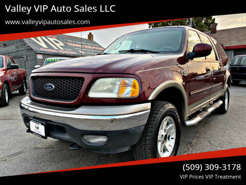 2003 Ford F-150 for sale at Valley VIP Auto Sales LLC - Valley VIP Auto Sales - E Sprague in Spokane Valley WA