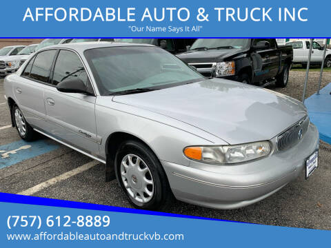 2000 Buick Century for sale at AFFORDABLE AUTO & TRUCK INC in Virginia Beach VA