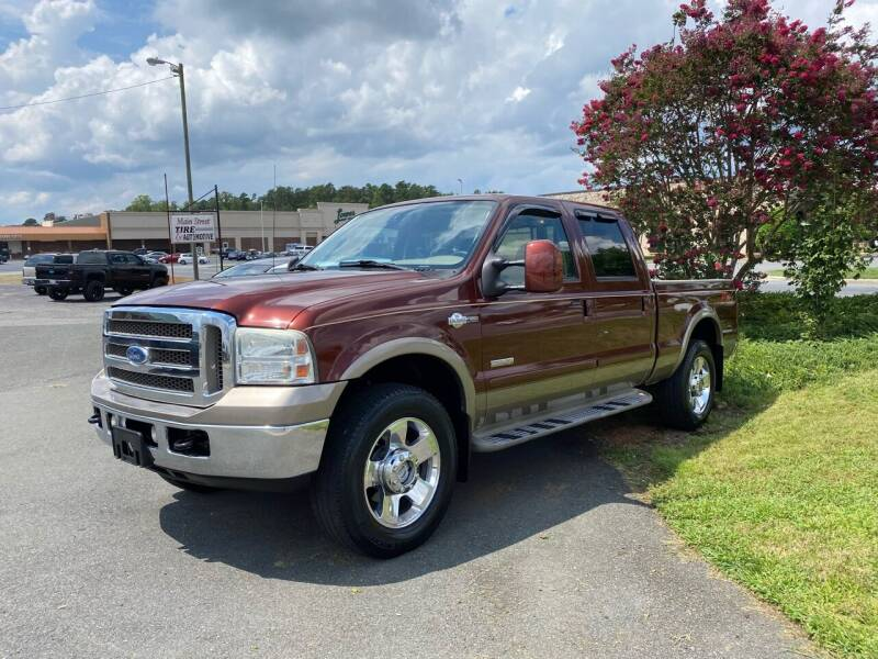 2007 Ford F-250 Super Duty for sale at Main Street Auto LLC in King NC