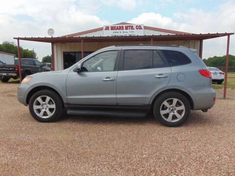 2009 Hyundai Santa Fe for sale at Jacky Mears Motor Co in Cleburne TX