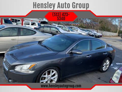2009 Nissan Maxima for sale at Hensley Auto Group in Middletown OH