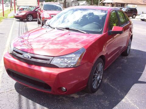 2010 Ford Focus for sale at LAKESIDE MOTORS LLC in Houghton Lake MI