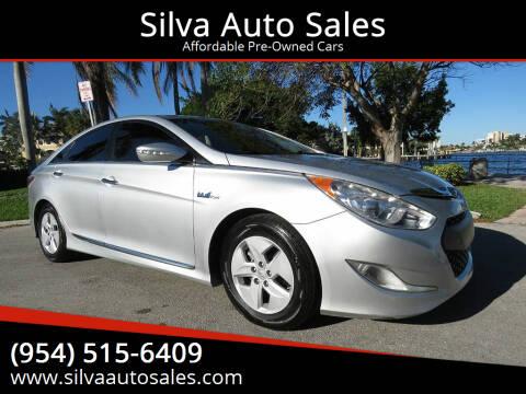 2012 Hyundai Sonata Hybrid for sale at Silva Auto Sales in Pompano Beach FL