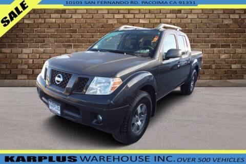 2011 Nissan Frontier for sale at Karplus Warehouse in Pacoima CA