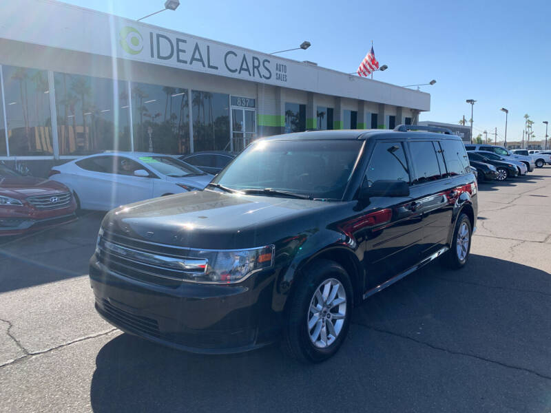 2014 Ford Flex for sale at Ideal Cars East Main in Mesa AZ