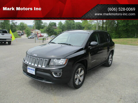 2017 Jeep Compass for sale at Mark Motors Inc in Gray KY