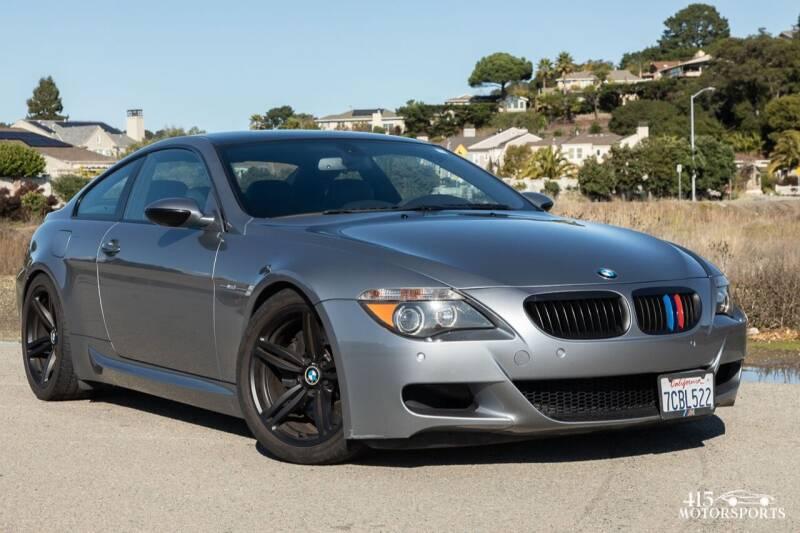 2007 BMW M6 for sale at 415 Motorsports in San Rafael CA