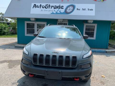 2014 Jeep Cherokee for sale at Autostrade in Indianapolis IN