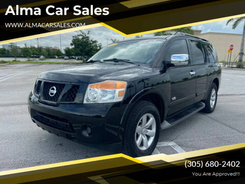 2008 Nissan Armada for sale at Alma Car Sales in Miami FL