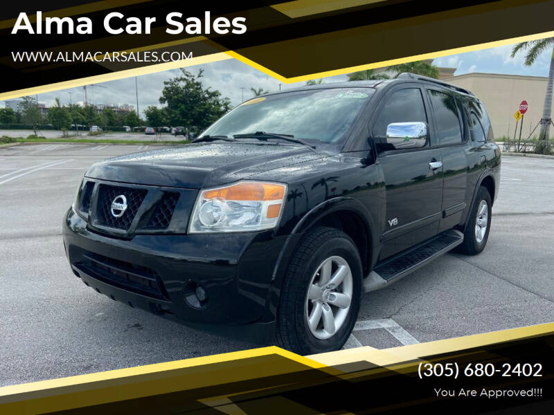 2008 Nissan Armada for sale at Alma Car Sales in Miami FL