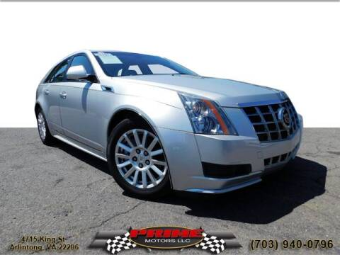 2014 Cadillac CTS for sale at PRIME MOTORS LLC in Arlington VA