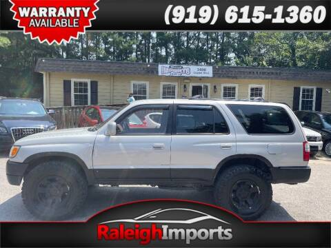1998 Toyota 4Runner for sale at Raleigh Imports in Raleigh NC