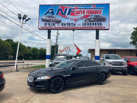 2012 Jaguar XJ for sale at ANF AUTO FINANCE in Houston TX