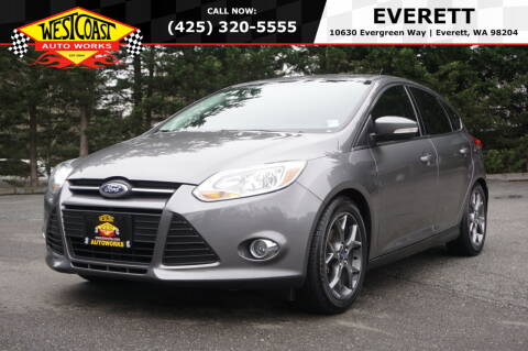 2014 Ford Focus for sale at West Coast Auto Works in Edmonds WA