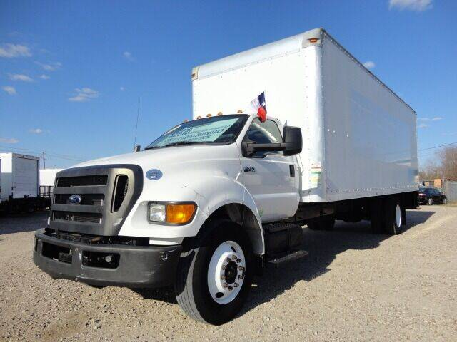 2013 Ford F-750 XL Super Duty for sale at Regio Truck Sales in Houston TX
