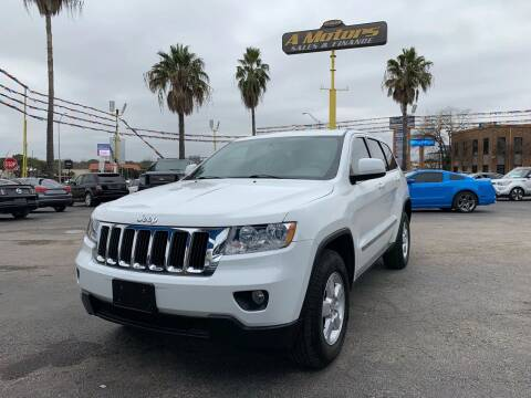 2013 Jeep Grand Cherokee for sale at A MOTORS SALES AND FINANCE in San Antonio TX