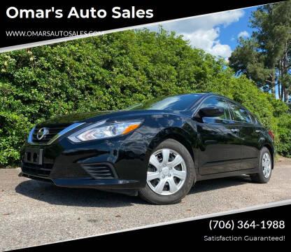 2018 Nissan Altima for sale at Omar's Auto Sales in Martinez GA