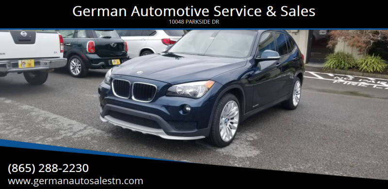 2015 BMW X1 for sale at German Automotive Service & Sales in Knoxville TN
