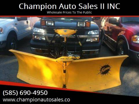 2004 Chevrolet Silverado 2500HD for sale at Champion Auto Sales II INC in Rochester NY