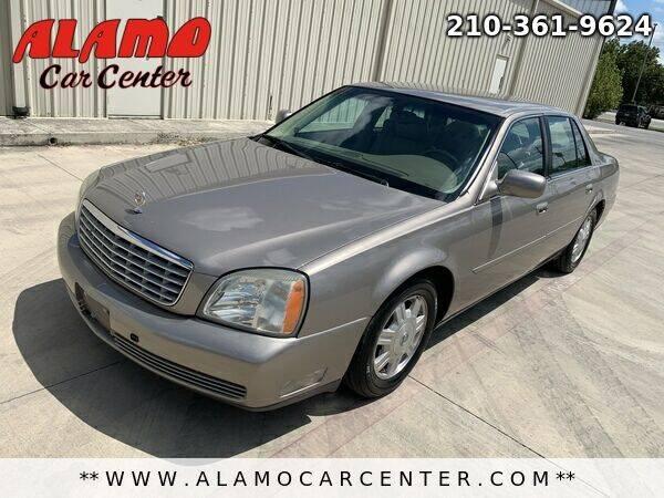 2004 Cadillac DeVille for sale at Alamo Car Center in San Antonio TX