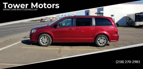 2015 Dodge Grand Caravan for sale at Tower Motors in Brainerd MN