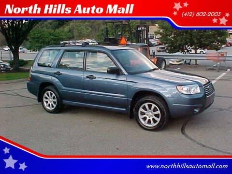 2008 Subaru Forester for sale at North Hills Auto Mall in Pittsburgh PA