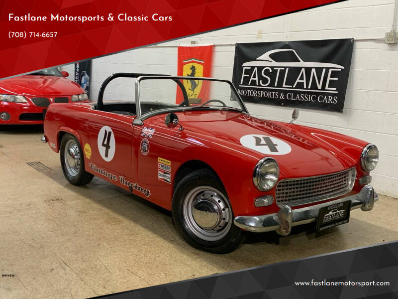 1962 Austin-Healey Sprite for sale at Fastlane Motorsports & Classic Cars in Addison IL