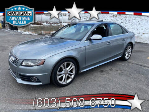2011 Audi S4 for sale at J & E AUTOMALL in Pelham NH