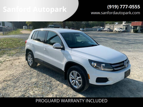 2013 Volkswagen Tiguan for sale at Sanford Autopark in Sanford NC