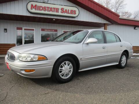 2002 Buick LeSabre for sale at Midstate Sales in Foley MN