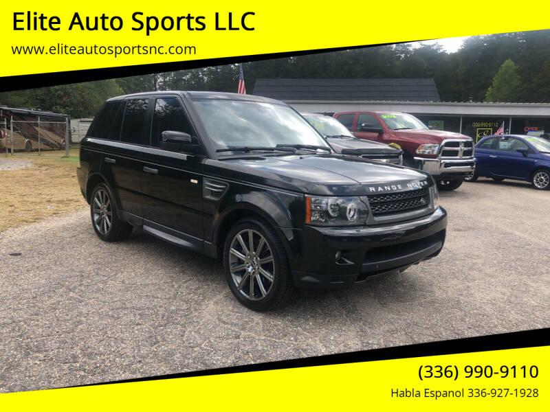 2011 Land Rover Range Rover Sport for sale at Elite Auto Sports LLC in Wilkesboro NC