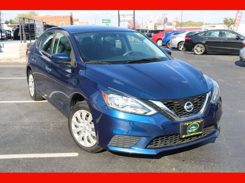 2017 Nissan Sentra for sale at AUTO POINT USED CARS in Rosedale MD