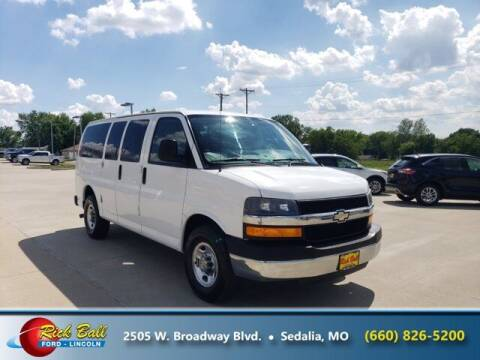 2012 Chevrolet Express Passenger for sale at RICK BALL FORD in Sedalia MO
