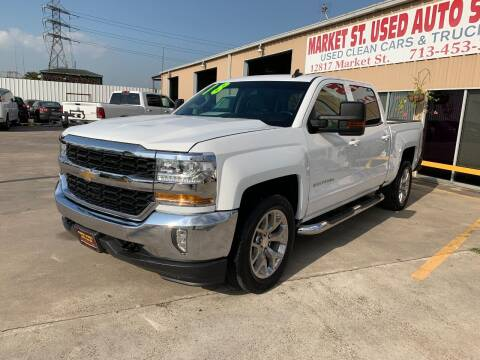 2018 Chevrolet Silverado 1500 for sale at Market Street Auto Sales INC in Houston TX